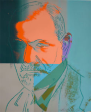 Andy WARHOL - Estampe-Multiple - Sigmund Freud