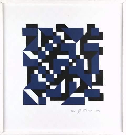 Ode BERTRAND - Painting - Sans titre