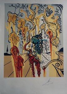 Salvador DALI - Stampa-Multiplo - Portrait of Autumn