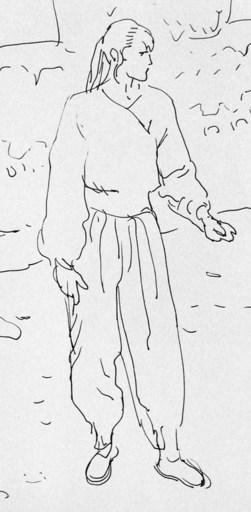 """MAKYO - Drawing-Watercolor - """"Le cycle des 2 horizons"""""""