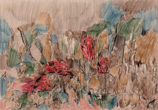Rafael RUIZ BALERDI - Drawing-Watercolor - Untitled