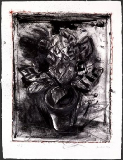 Jim DINE - Print-Multiple - Jerusalem Plant #5