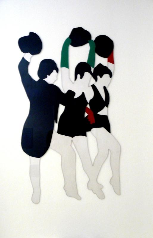 Marco LODOLA - Escultura - 3 ballerine
