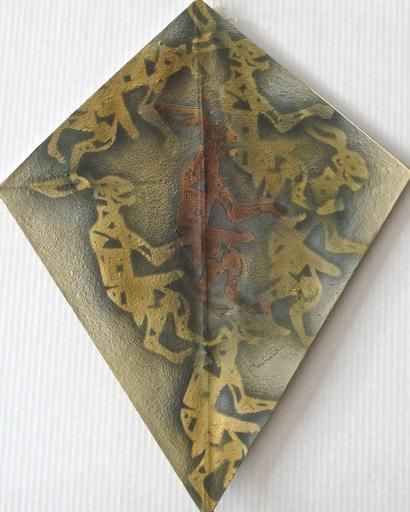 Francisco TOLEDO - 绘画 - Rabbit kite II
