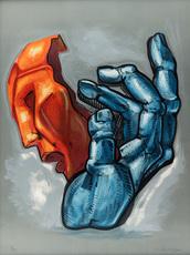 Ernst Iosipovitch NEIZVESTNY - Print-Multiple - Hand with Mask