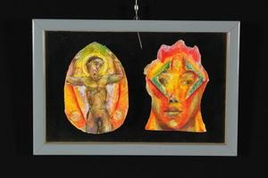 Bruno CECCOBELLI - Gemälde - Te e Innamorato