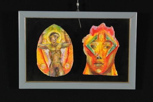Bruno CECCOBELLI - Painting - Te e Innamorato