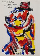 Karel APPEL - Drawing-Watercolor - Argile