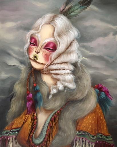 MISS VAN - Painting - Gitana VII