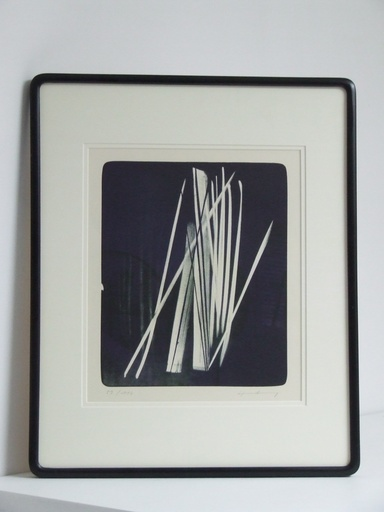 Hans HARTUNG - Estampe-Multiple - L-1966-37
