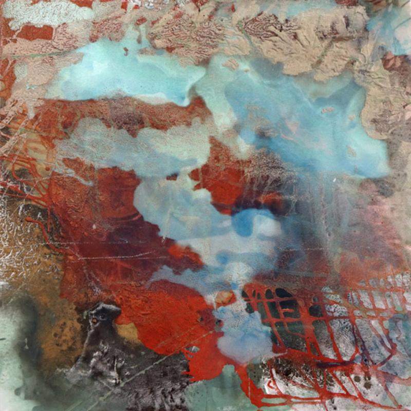 Bertille DE BAUDINIERE - Peinture - Blue Earth - Sous l'eau / Underwater #6
