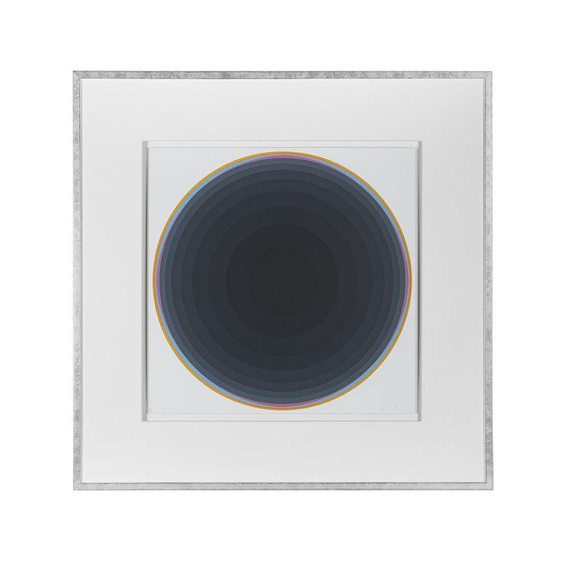 Lothar QUINTE - Print-Multiple -  Silber-Quasar IV