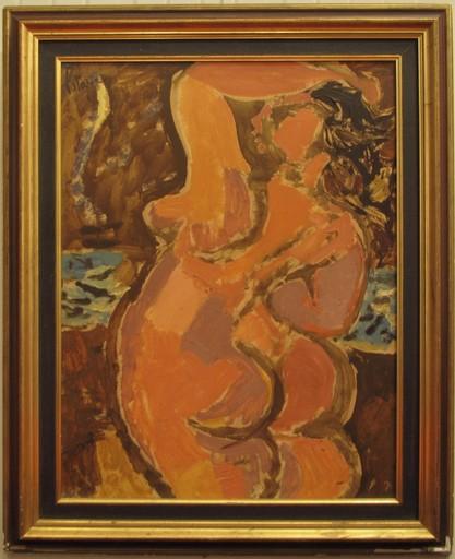 Louis LATAPIE - Painting - Nu