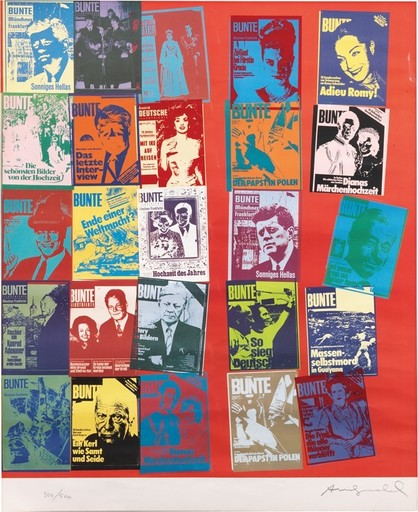Andy WARHOL - Stampa-Multiplo - Magazine and history
