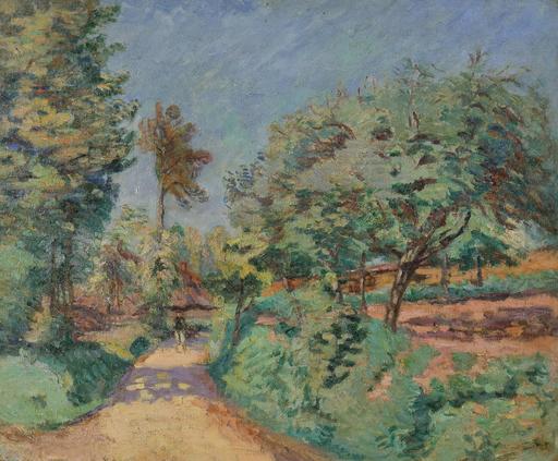 Armand GUILLAUMIN - Peinture - Chemin en Île-de-France