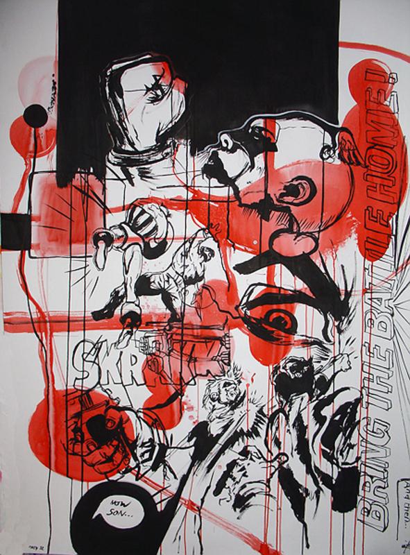 Vuk VIDOR - Disegno Acquarello - Mash #32