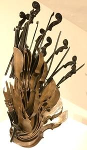 Fernandez ARMAN - Escultura - Cascade de violons