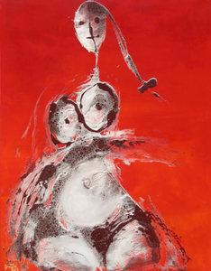 Dinh QUAN - Painting - Motion