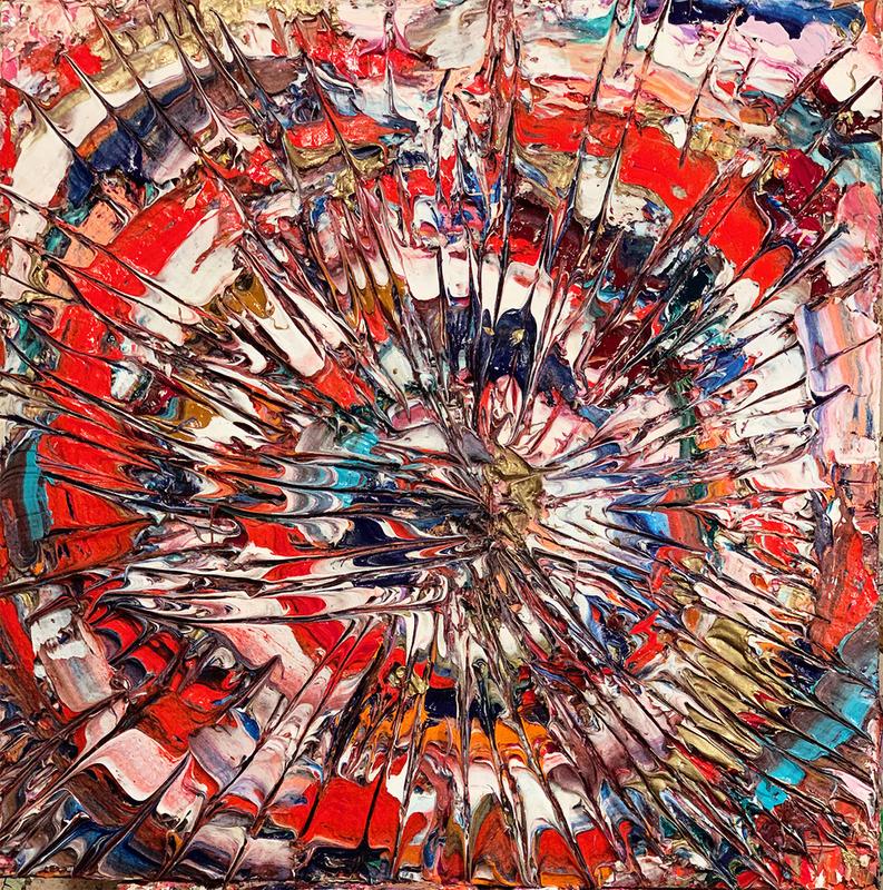 Adam COHEN - Peinture - Spiral Stare Case
