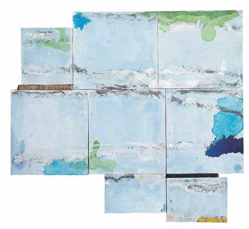 Paolo PATELLI - Peinture - I have tried to write Paradise