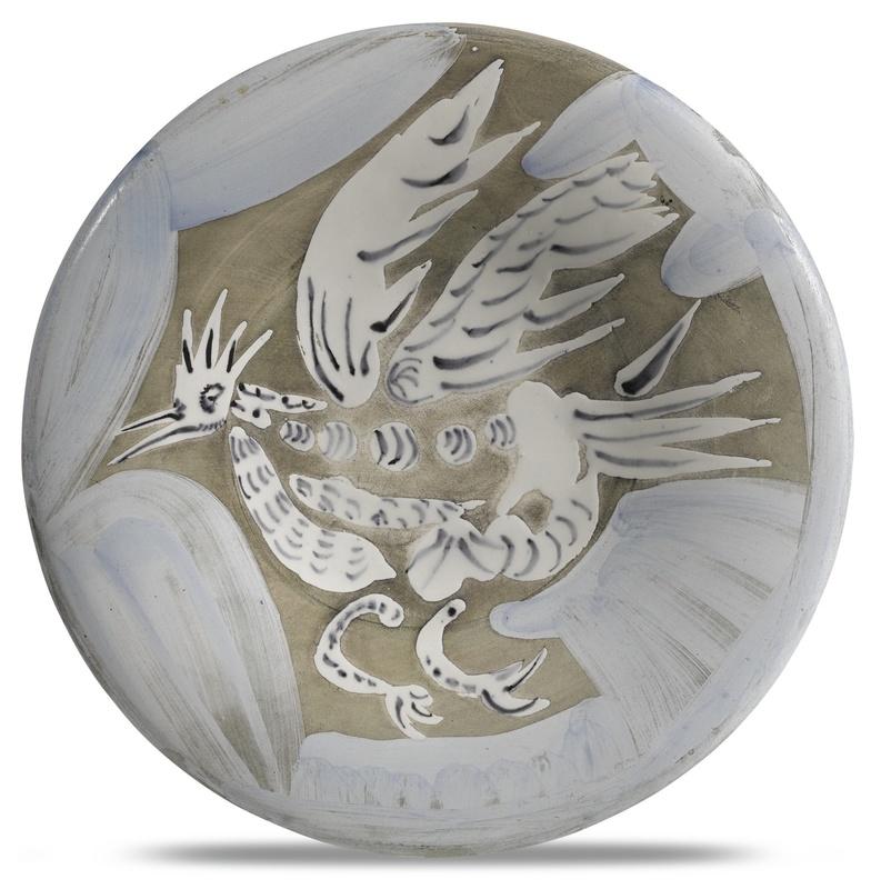 Pablo PICASSO - Ceramic - Oiseau n°91