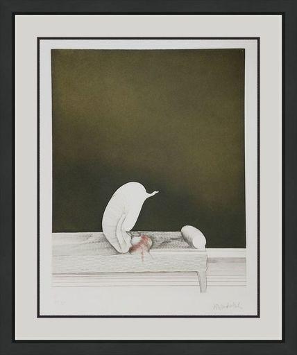 Paul WUNDERLICH - Grabado - Unknown Title