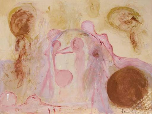 Laura VIZZARDI - Painting - Il purgatorio