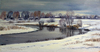 Valeriy NESTEROV - Pintura - Pakhra river. Moscow district