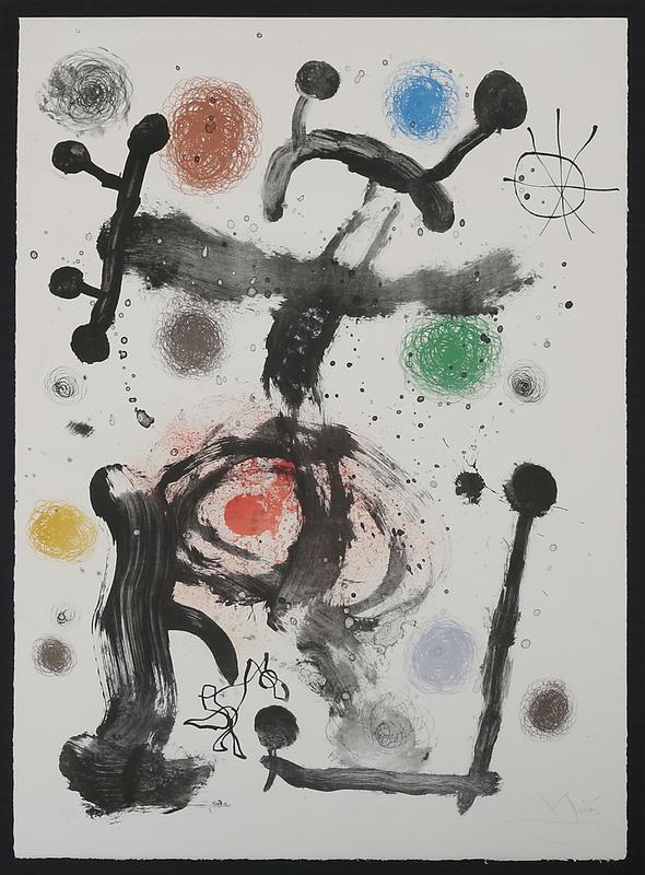 Joan MIRO - Print-Multiple - Betelgause