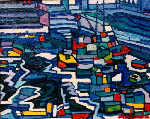 Alfonso ABELENDA ESCUDERO - Pintura - marina