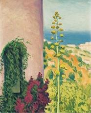 Albert MARQUET - Peinture - Aloes fleuri