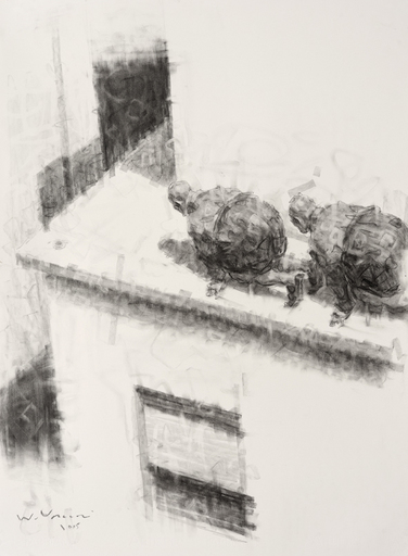 Wainer VACCARI - Drawing-Watercolor - S.T.