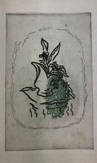 Georges BRAQUE - Grabado - Bouquet Vert