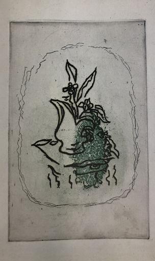 Georges BRAQUE - Stampa Multiplo - Bouquet Vert