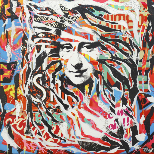 Jo DI BONA - Gemälde - Mona Lisa