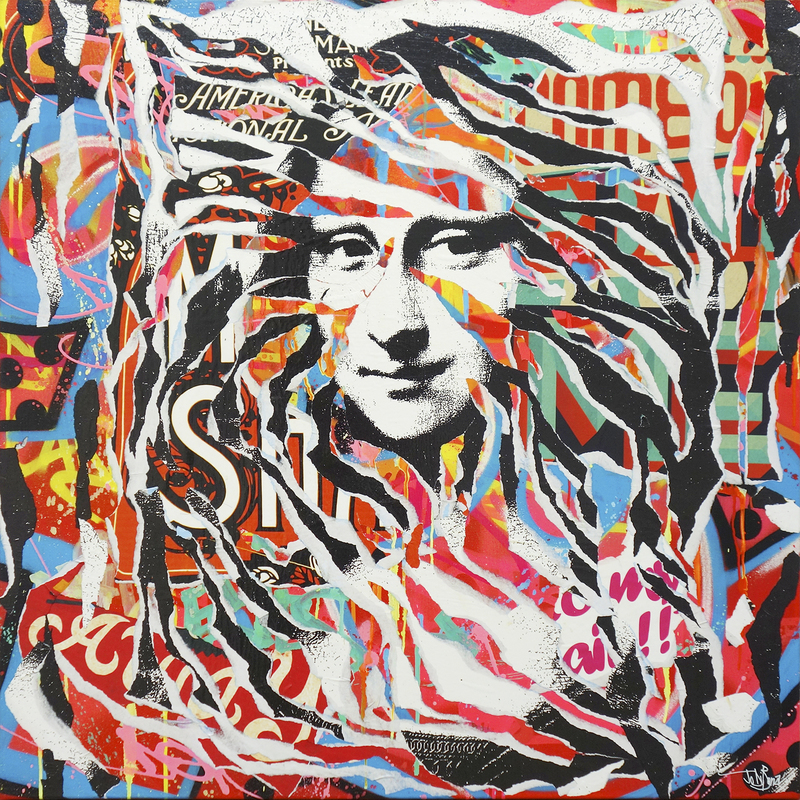 Jo DI BONA - Pittura - Mona Lisa