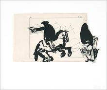 William KENTRIDGE (1955) - Untitled (Horseman)