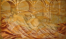 Giancarlo GOTTARDI - Painting - Venus: Il tempio di Nettuno