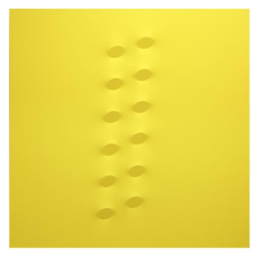 Turi SIMETI - Peinture - 12 ovali gialli