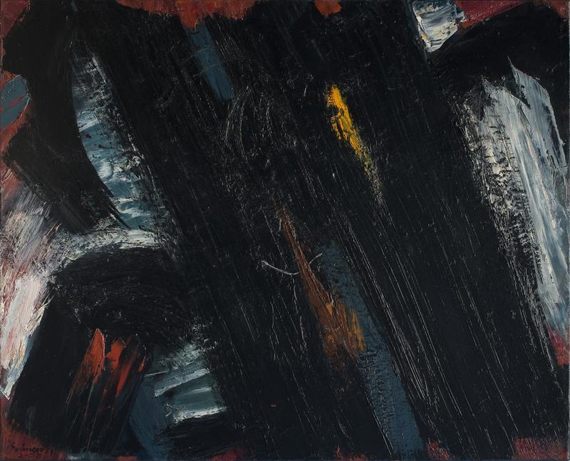 Gérard SCHNEIDER - Painting - Opus 14D