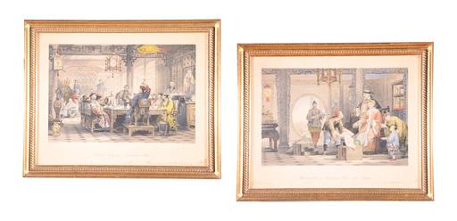 Thomas ALLOM - Print-Multiple - 2 Pieces
