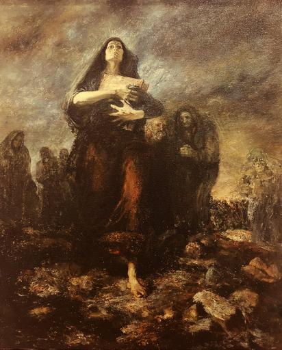 Hovik KOCHINIAN - Pittura - The Manuscript