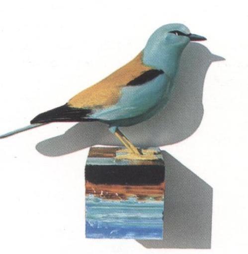 Kjell LANDFORS - Escultura - Ghiandaia marina