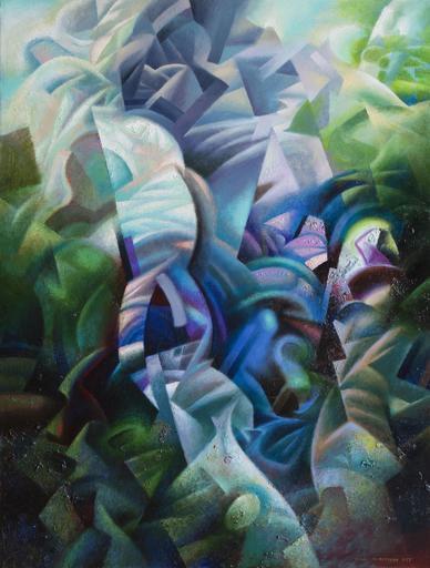 Ivan TURETSKYY - Peinture - Grass waves
