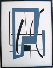 "Robert JACOBSEN - Print-Multiple - ""Composition"" Paris"