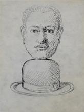 René MAGRITTE - Estampe-Multiple -  Untitled, from: Lien de Paille