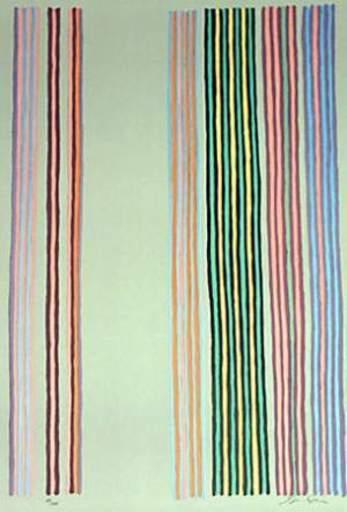 Gene DAVIS - Druckgrafik-Multiple - royal curtain