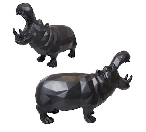 Richard ORLINSKI - Skulptur Volumen - Hippopotame