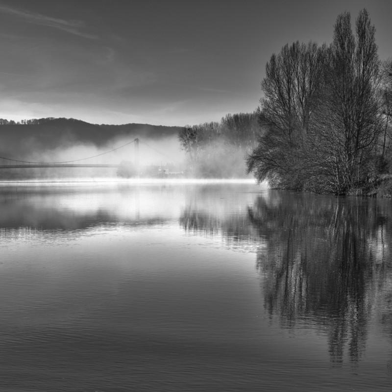 Jean-Louis MOREELS - Photography - Brume sur la Seine aux Andelys
