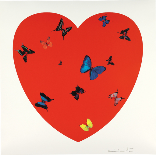 Damien HIRST - Stampa-Multiplo - All you need is love love love